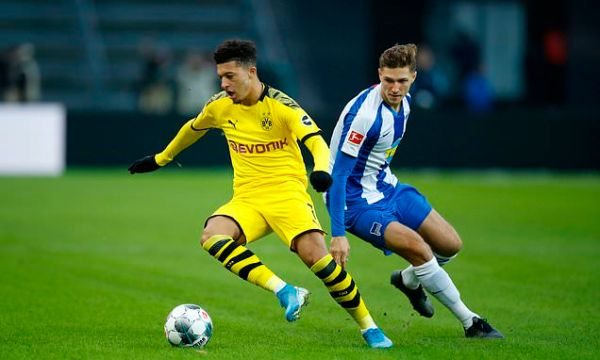 Hertha 1-2 Dortmund: Hummels sent-off as Klinsmann loses first game