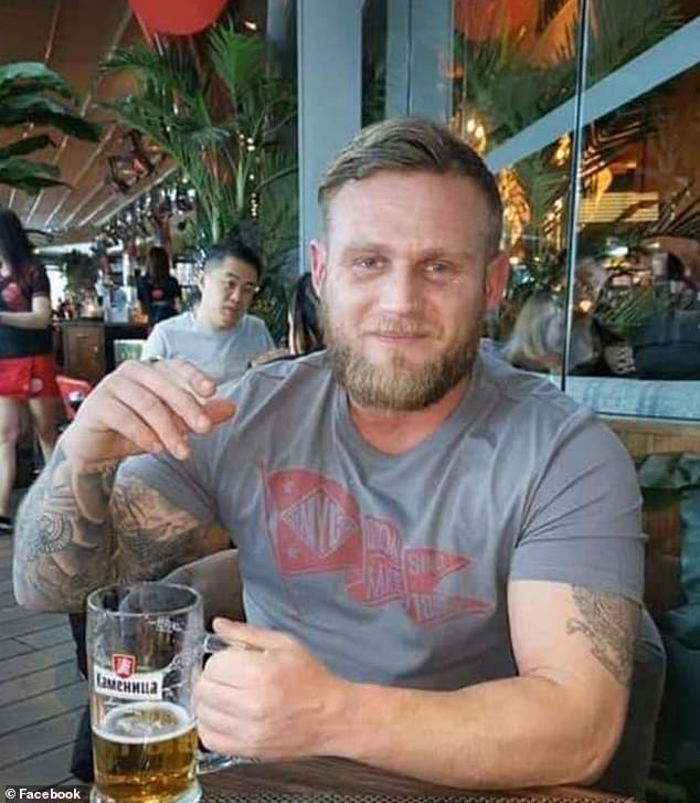 Turned away:Just days before he was discovered the former Marine had sought help from two medical centres for his PTSD, however they both reportedly turned him down