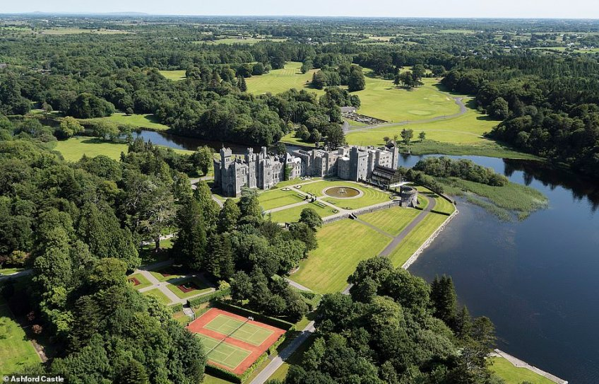 Ashford Castle in County Mayo is one of the oldest castles in Ireland, dating back to the 13th century. It is now a five-star hotel