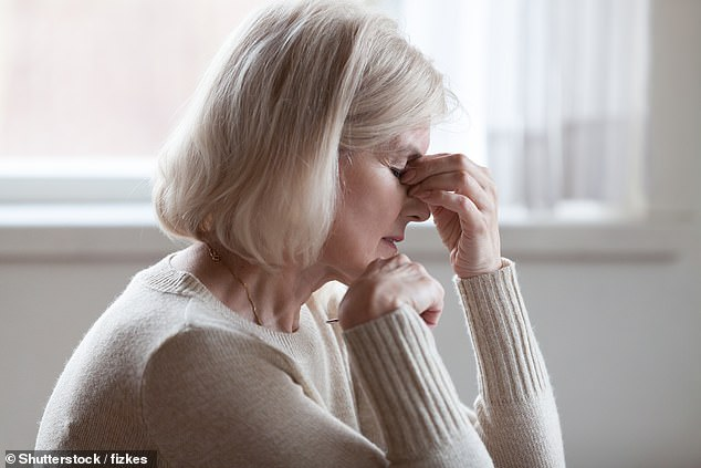 There are two types of glaucoma. The most common is 'open-angle', where pressure builds beacuase of a blocked drainage channel in the eye. Sheryll had the less common version, 'closed-angle', which occurs due to eye shape. (stock image)