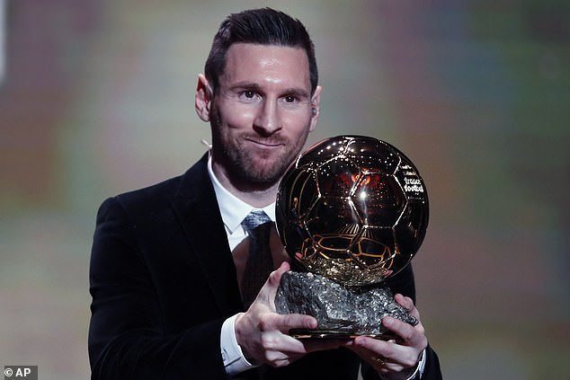The 32-year-old is standing alone in the all-time list with six, his first Ballon d'Or since 2015