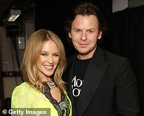 Winner: Christopher Kane (pictured with Kylie Minogue)