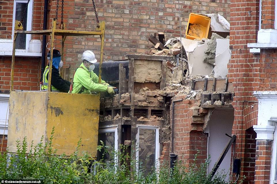 The insurance companies refused to pay out which left the couple facing debts of about £1million, including a £318,000 demolition bill from Barnet Council, £500,000 in legal costs and thousands more in lost goods
