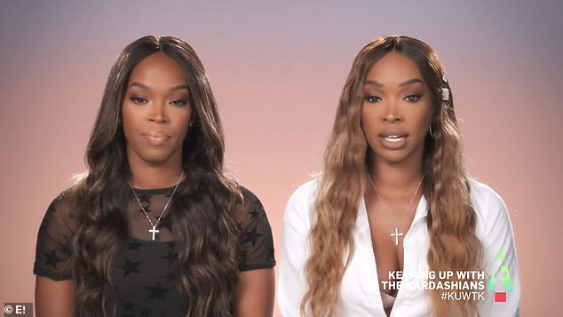 Don't attack these ladies:The 35-year-old star is tired of the complaints sent her way after her friends Malika and Khadijah Haqq tried to get her back together with love rat ex Tristan Thompson as seen during Sunday's episode of Keeping Up With the Kardashians
