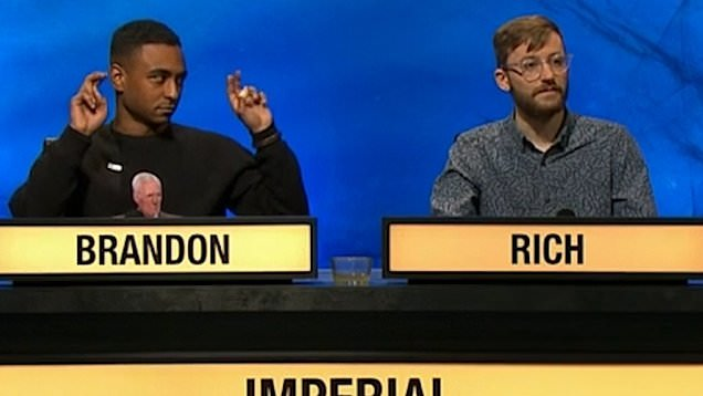 University Challenge Contestant Brandon Branded Both Smug And A
