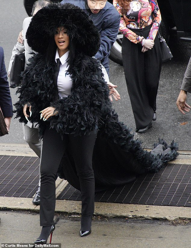 Image result for cardi b back in court