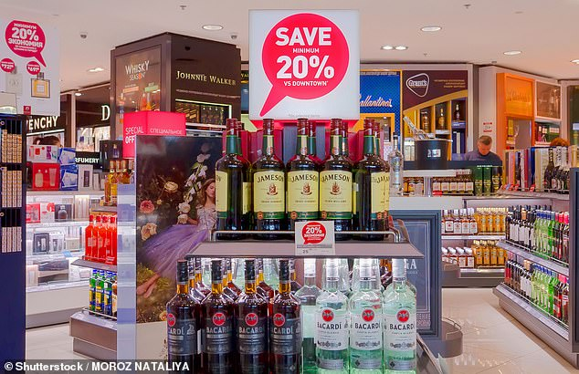 Buying booze will bag you the biggest savings at duty-free, thanks to 'sin taxes' which apply to 'sinful' products in almost every countryoutside the confines of international airports