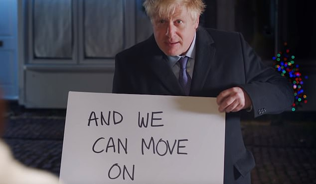 References: Prime Minister Boris Johnson appeared in a Conservative campaign video recreating a famous scene from Love Actually in December 2019