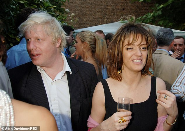 In 2004, his four-year affair with journalist and society author Petronella Wyatt (pictured), the daughter of Labour grandee Lord Wyatt, became public