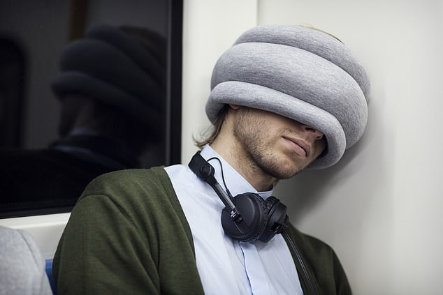The Ostrich Pillow Light is the perfect companion for a long-haul flight – or a cheeky snooze on your morning commute
