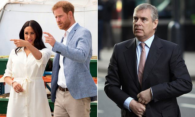 Prince Andrew has 'taken pressure off' Prince Harry and Meghan