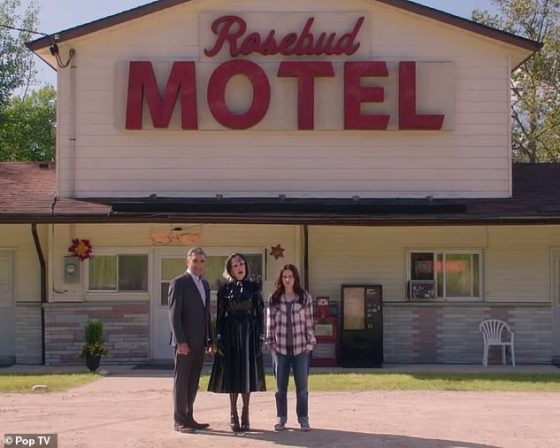 The motel then played a big part in the show when it debuted in 2014 and still attracts fans who are looking for the show for the first time on Netflix and who then come and stand outside the building when in the area