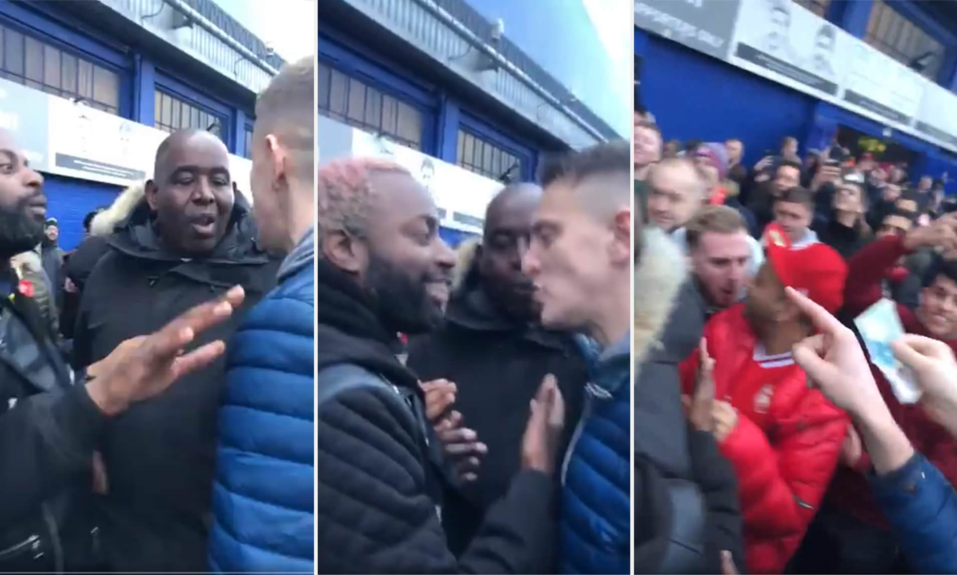 Robbie From Arsenal Fan Tv Caught Up In Unsavoury Scenes With