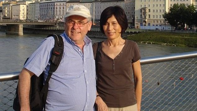Peter Humphrey and his wife Yu Yingzeng, pictured together, were held by Chinese authorities on charges that were never heard in court