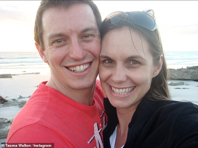 Sentimental: WA holds a special place in Rove and Tasma's hearts. The Logie-winner, 46, and the actress, 47, tied the knot in Broome in 2009, after becoming an item two years prior