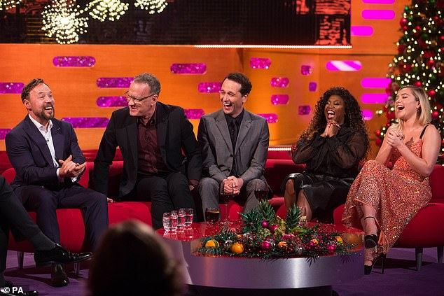 Star-studded cast: It looks like there will be plenty of laughs in store for the New Year's special
