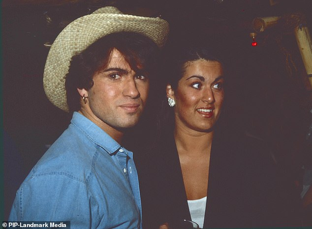 George Michael with sister Melanie Panayiotou at a party in the early 1980s. The two were close and she has spoken fondly of her brother in the past