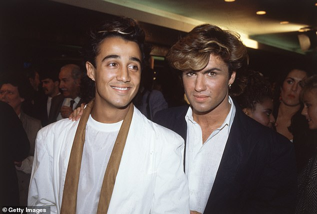 Andrew featured in 1980s pop duo Wham! with Melanie's brother George (pictured together)