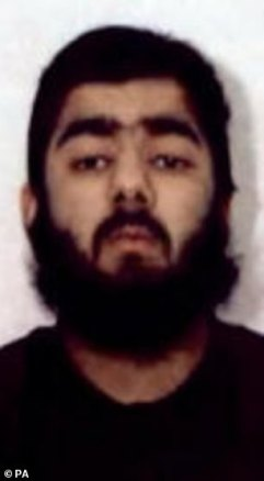 London Bridge attacker Usman Khan (pictured) was also an inmate