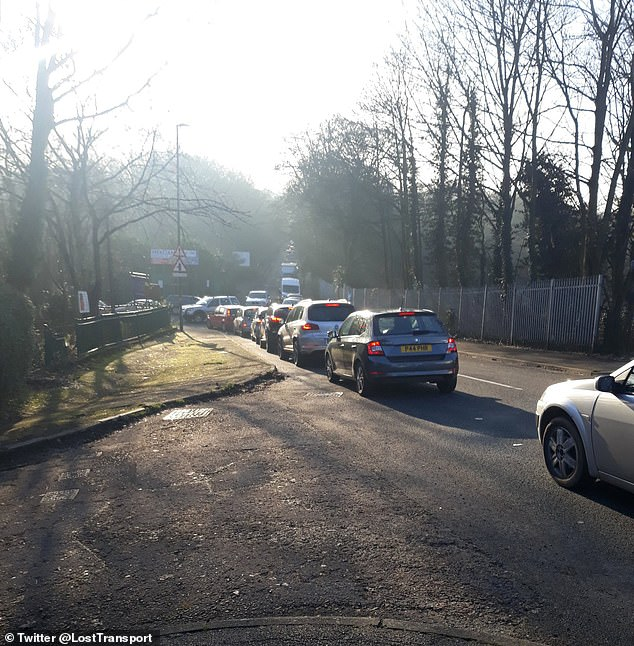 Residents were once again left disgruntled after having to sit in queues for up to half an hour just to be able to get inside the recycling plants