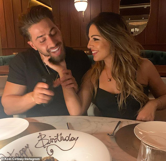 Over? Kem Cetinay has reportedly split from girlfriend Lexi Hyzler, after lockdown travel restrictions made it 'really difficult' for them to maintain their long-distance romance