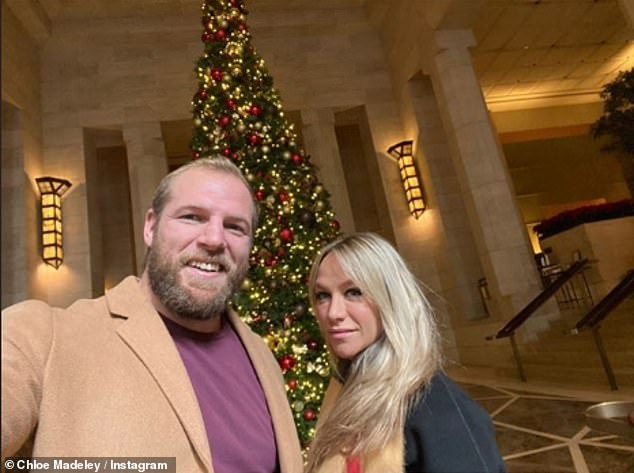 Her love:Chloe went on to discuss her husband James Haskell's stint in I'm A Celebrity... Get Me Out Of Here