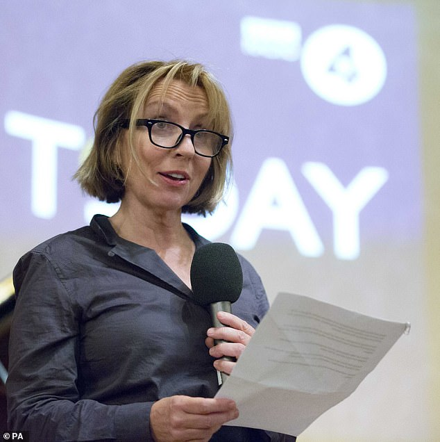 Unfortunate: The Today Programme's editor Sarah Sands (pictured, December 29) believes 'it's a pretty good time to put the foot on the windpipe of an independent broadcaster', while accusing No 10 of 'Trumpian' tactics in its refusal to appear on the programme