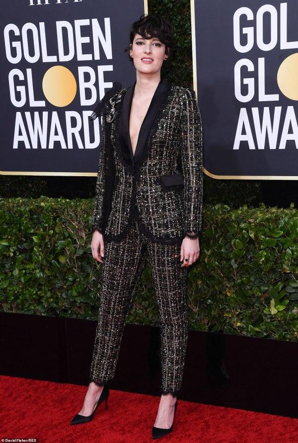 Golden Globes 2020: British stars lead the red carpet