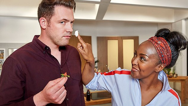 Experts said programmes which teach how to cook dishes from scratch – such as The Big Family Cooking Showdown, presented by Angellica Bell and Tommy Banks - could halt obesity