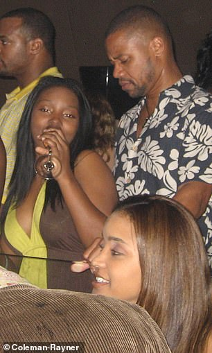 Fonseca went on an ill-fated date with Gooding in July 2016 which ended when he started kissing and groping another woman at a karaoke bar. He is pictured dancing with two different women on a night out in 2008