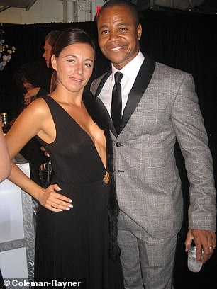 Celebrity photographer and journalist Selma Fonseca is pictured with Gooding in 2007
