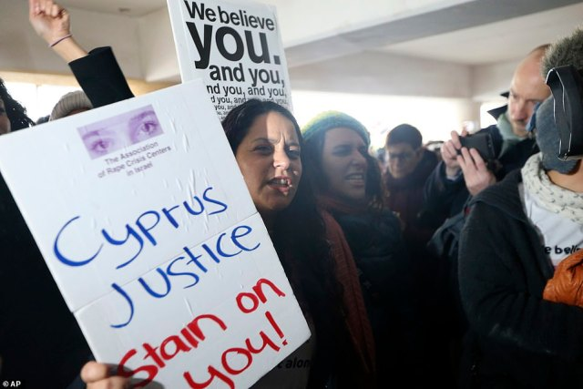 The woman's case has caused great anger in Cyprus and the UK where many believe the woman should be treated as a victim not a criminal