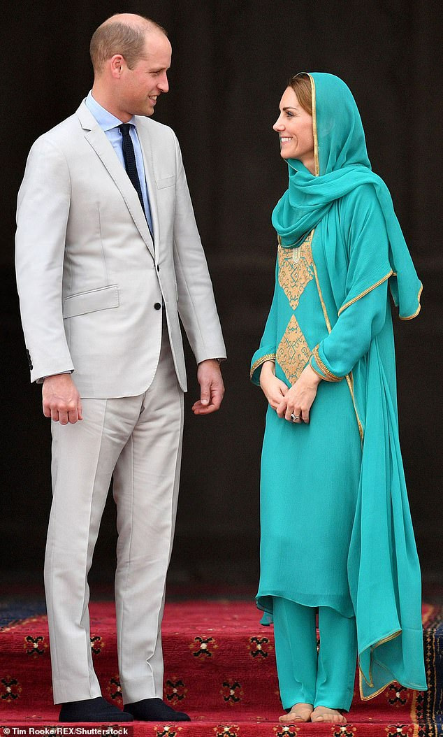 The Duke and Duchess of Cambridge, pictured on their royal tour of Pakistan in October, are both passionate about mental health