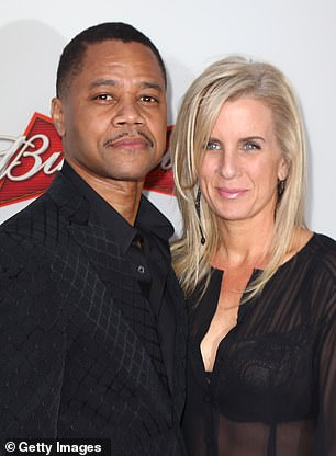 In 2017 Gooding divorced Sara Kapfer following 22 years of marriage