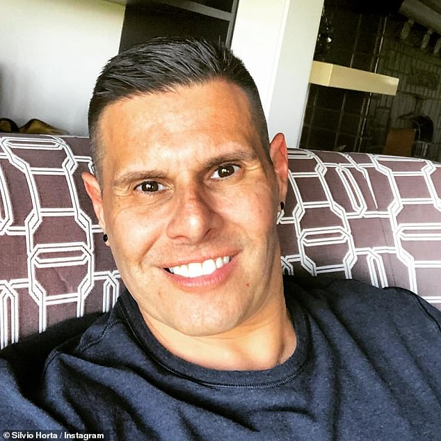 Silvio Horta, the creator of Ugly Betty, was found dead at the age of 45 in his Miami motel room on Tuesday. He was found with gunshot wounds in an apparent suicide (pictured May 2019)