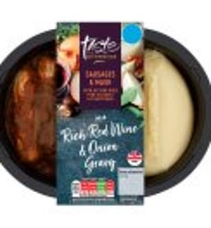 Sainsbury's Taste the Difference Sausage and Mash is the worst offender of shop bought microwave dishes, containing almost 3g of salt, which is half an adults daily intake.