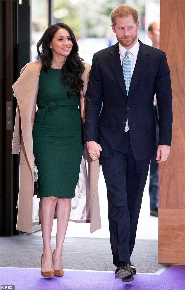 The Duke and Duchess of Sussex at the WellChild Awards in London on October 15, 2019