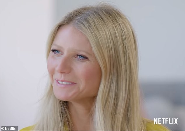 Busy businesswoman: It's been a busy time for Gwyneth and her lifestyle company, as they are gearing up for a new Netflix mini-series called The Goop Lab, premiering January 24