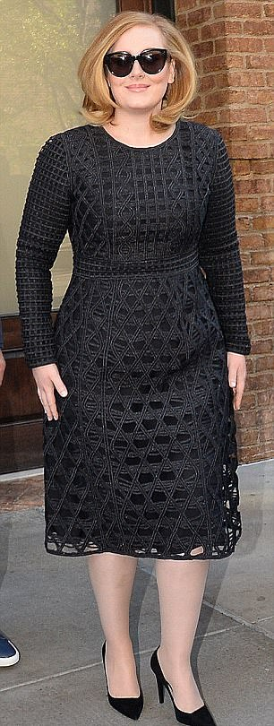 Diet: Adele admitted that it would reduce the consumption of alcohol, cigarettes and caffeine, as well as 'spicy, citrus and spicy' foods.