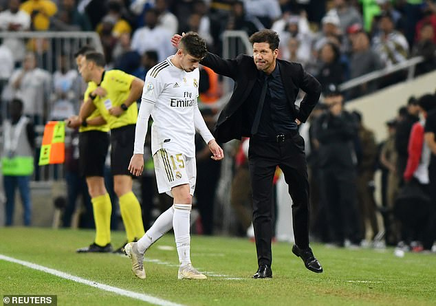 Simeone actually sympathised with Valverde, saying he did what he had to do in the moment