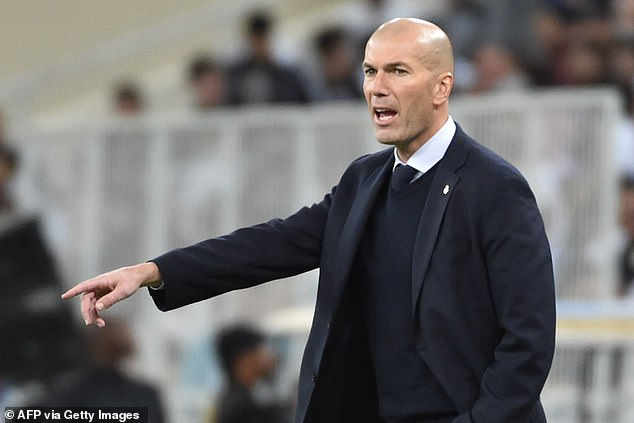 Real manager Zinedine Zidane says they will enjoy it now, but must get back to work soon