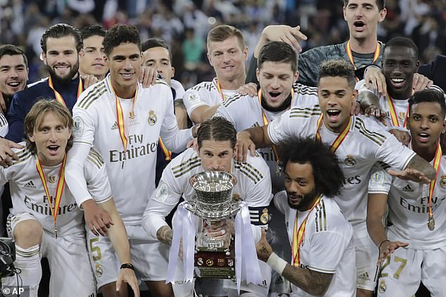 The Spanish Super Cup is Real Madrid's first silverware of the season, but they're after more
