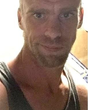 Plumber Leon Elton (pictured) was arrested in Tilba Tilba on Friday evening