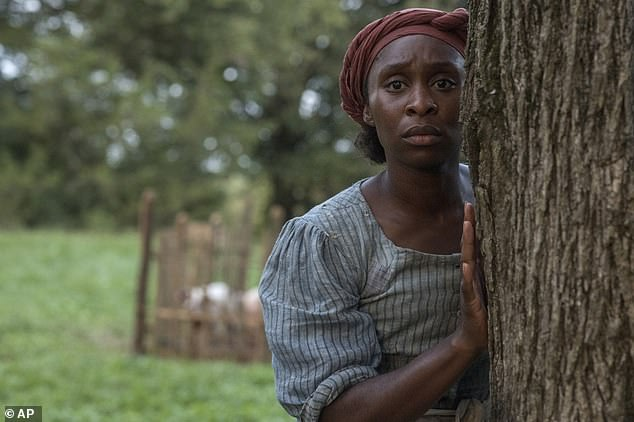 Cynthia Erivo is well on the way to achieving her ambition, with Oscar nominations for Best Actress and Best Original Song, both for the film Harriet. She is seen playing Harriet Tubman, above