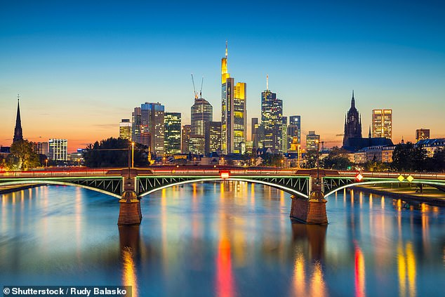 Flights from Sydney to Frankfurt (pictured) will put people out of pocket just $1,489