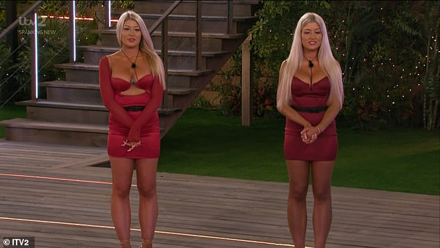 Shock: Later in the show, the drama really began when the twins fought over Callum Jones