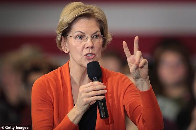Sen. Elizabeth Warren announced Tuesday she planned to use executive power to cut America's student loan debt 'on day one' should she be elected president