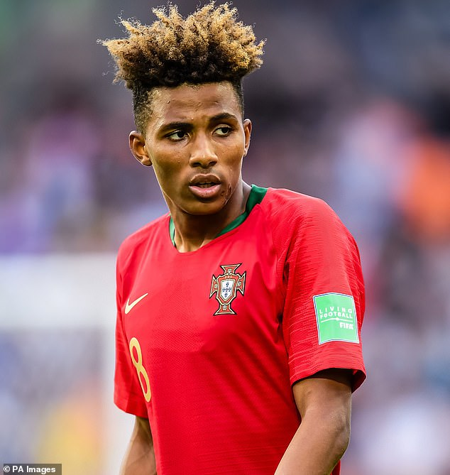 Portugal's youth star will cost Tottenham about £ 4 million for the loan's initial move