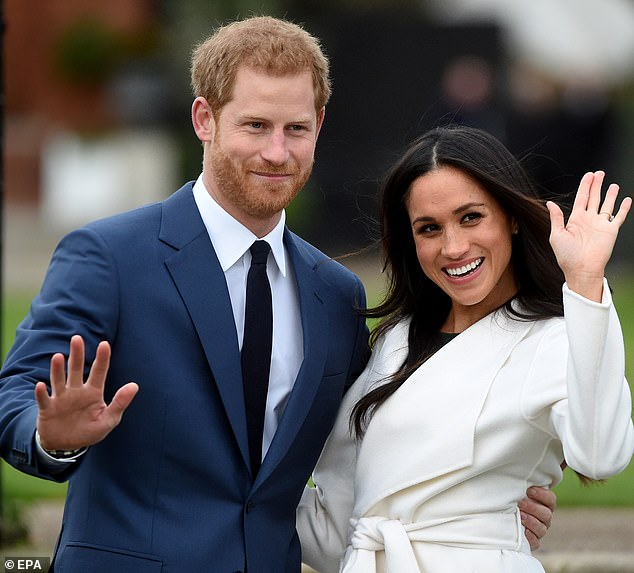 How much can they make? A celebrity publicist has revealed the staggering amount Meghan Markle and Prince Harry (pictured) can earn now after announcing their plans to 'step back' from royal duties and become financially independent