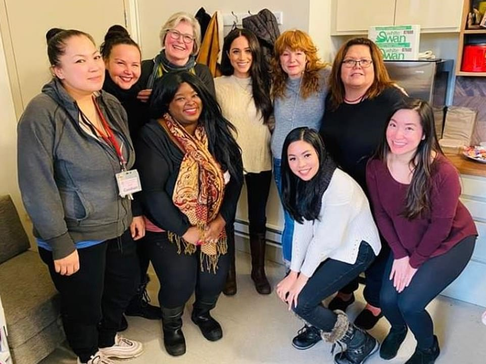 The Duchess made a surprise visit to Vancouver's Downtown Eastside Women's Center to